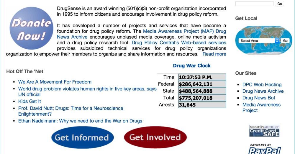 DrugSense Screenshot